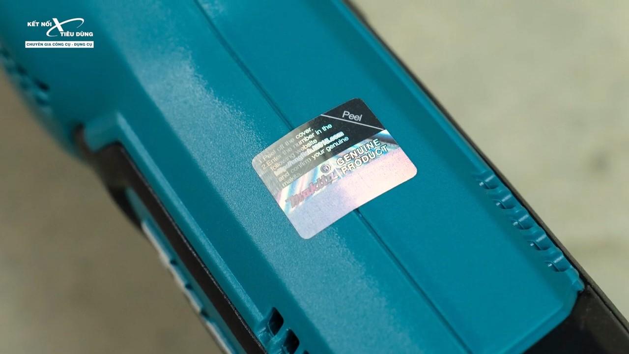 Sản phẩm chính hãng luôn được dán tem 7 màu chống hàng giả