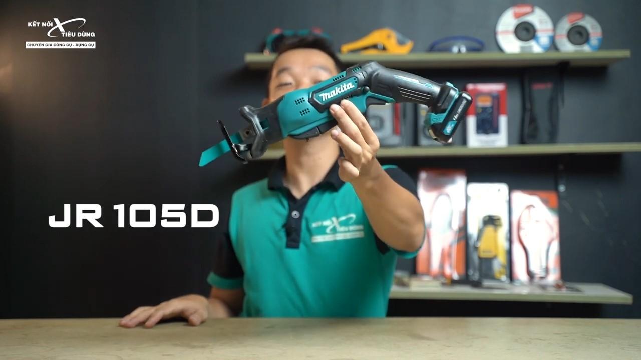 Makita JR105DSYE dùng để cắt vật liệu cứng