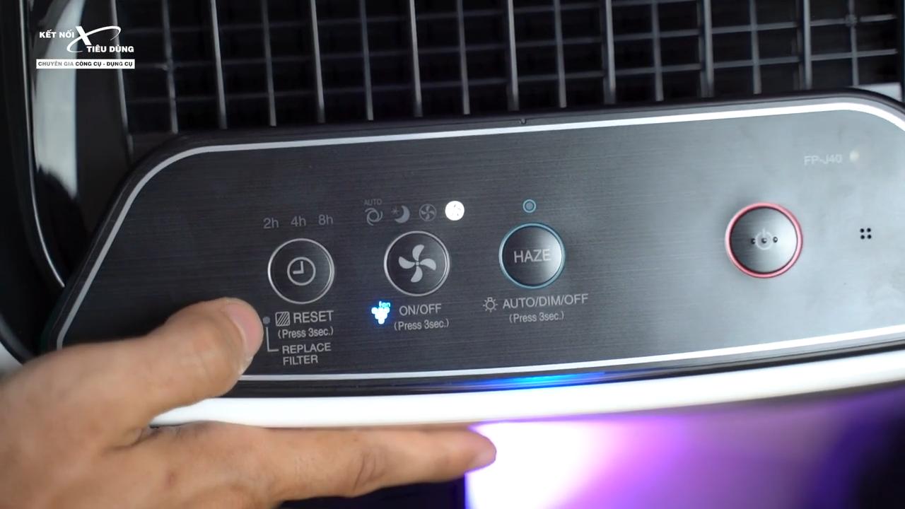 Chế độ Haze giúp máy lọc không khí siêu nhanh và hiệu quả