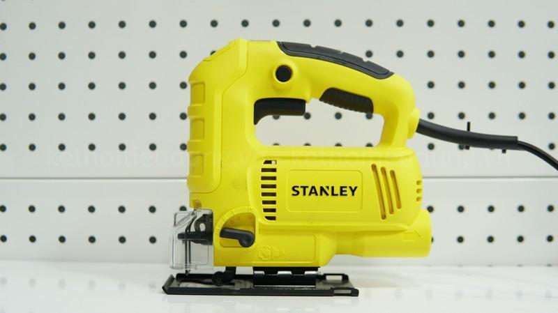 Máy cưa lọng Stanley SJ60 có thiết kế gọn nhẹ, hoạt động mạnh mẽ với công suất 600W