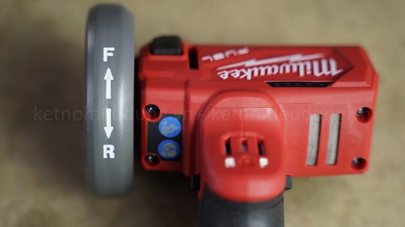 Máy cắt Milwaukee M12 FCOT có ngoại hình cực bắt mắt với màu đỏ đặc trưng của thương hiệu Milwaukee