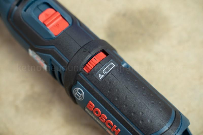 Máy mài cầm tay Bosch GRO 12V-35 là một con máy chất lượng dành cho Anh Em đam mê DIY