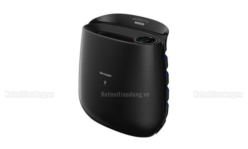 Máy lọc Sharp được thiết kế màu đen tối giản, sang trọng, sử dụng thoải mái trong phòng khách, văn phòng