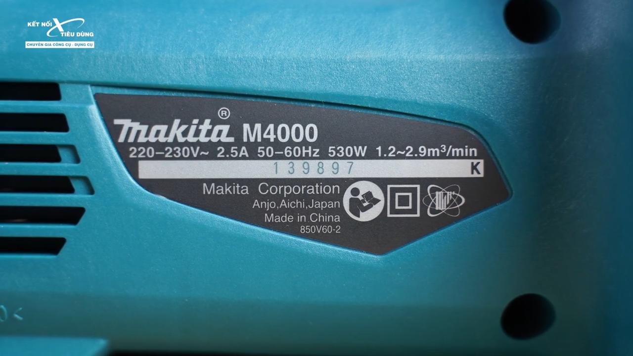 Makita giá rẻ liệu có ngon như thường lệ - máy trang bị động cơ mạnh mẽ có khả năng thổi sạch bụi, lá, các dị vật kim loại nặng,... chỉ trong thời gian ngắn