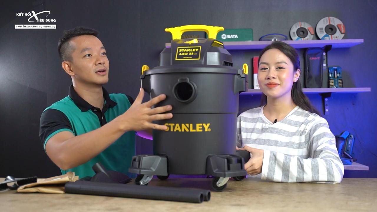 Một loại các phụ kiện đi kèm máy Stanley nhằm cung cấp một giải pháp hút bụi tối ưu cho Anh Em thi công, công trình