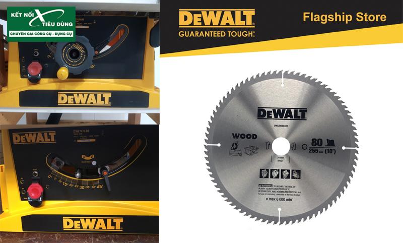 Máy cưa bàn Dewalt DWE7470-B1 - 2