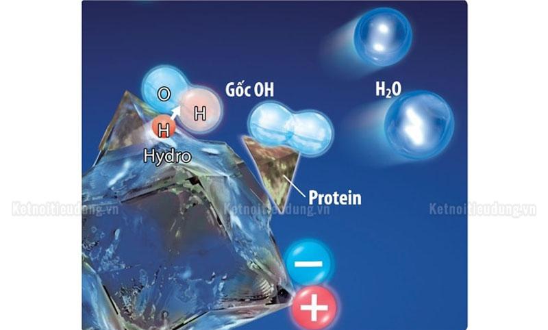 Plasmacluster là công nghệ tạo ra các ion âm và dương giúp tiêu diệt bụi bẩn, tái tạo phân tử nước trong không khí