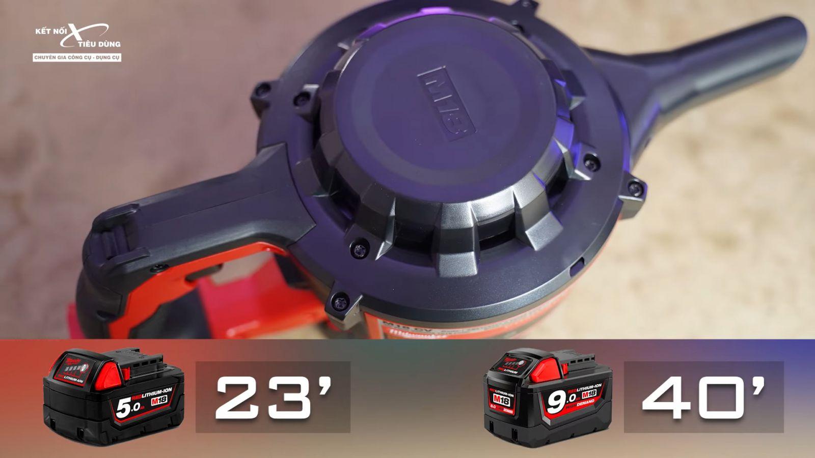 Review máy hút bụi Milwaukee M18 CV nhỏ gọn, khá mạnh, đi công trường ngon - tiện lợi và tiết kiệm chi phí hơn khi sử dụng máy hút bụi tích hợp với các thiết bị dùng pin 18V của Milwaukee