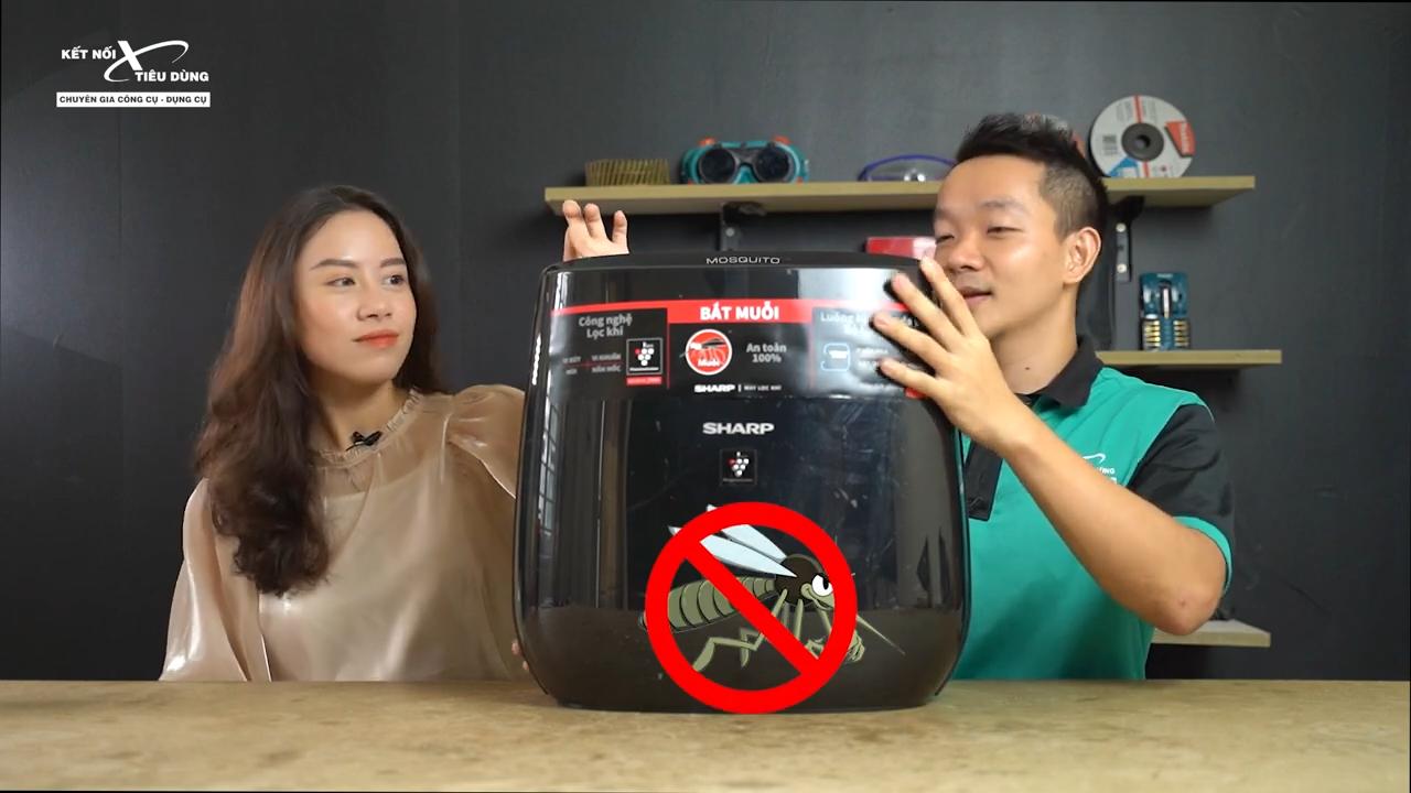 Sharp FP-JM30V-B là loại máy lọc chuyên dụng vừa có thể lọc khí tốt vừa có khả năng bắt muỗi