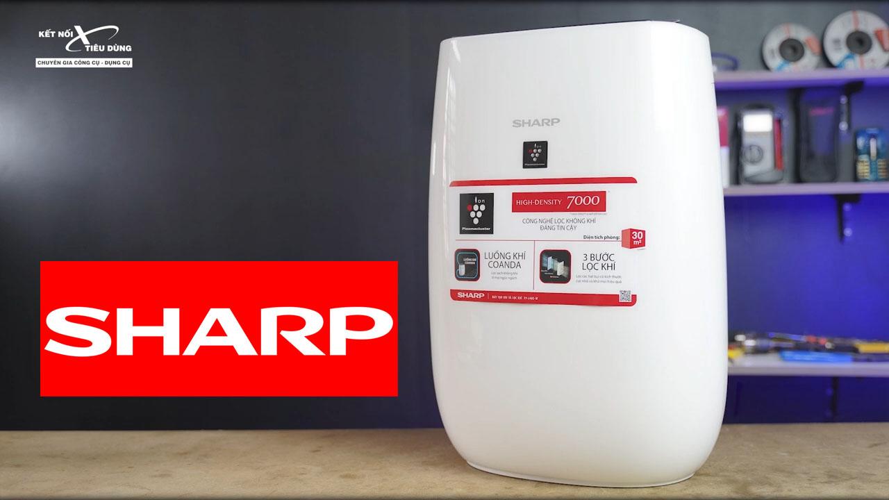 Sharp là một trong những thương hiệu điện tử hàng đầu thế giới