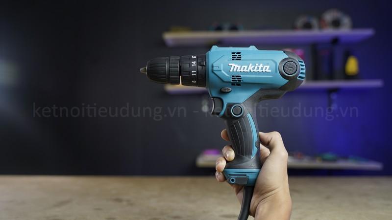 Máy khoan búa và vặn vít Makita (100MM) HP0300