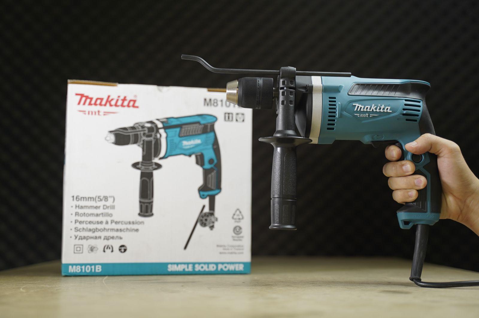 Máy khoan động lực Makita M8101B Chính hãng - Giá tốt khi gọi | Máy Khoan  Động Lực | ketnoitieudung.vn