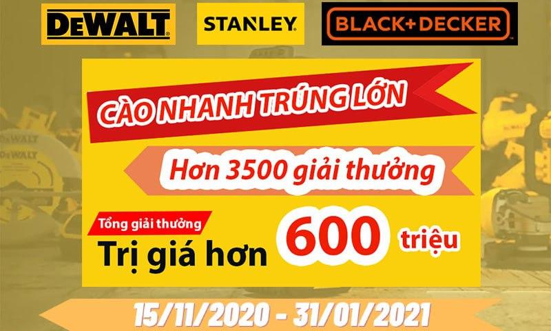 Banner khuyến mãi chương trình Tri ân cuối năm 2020 - Cào nhanh trúng lớn