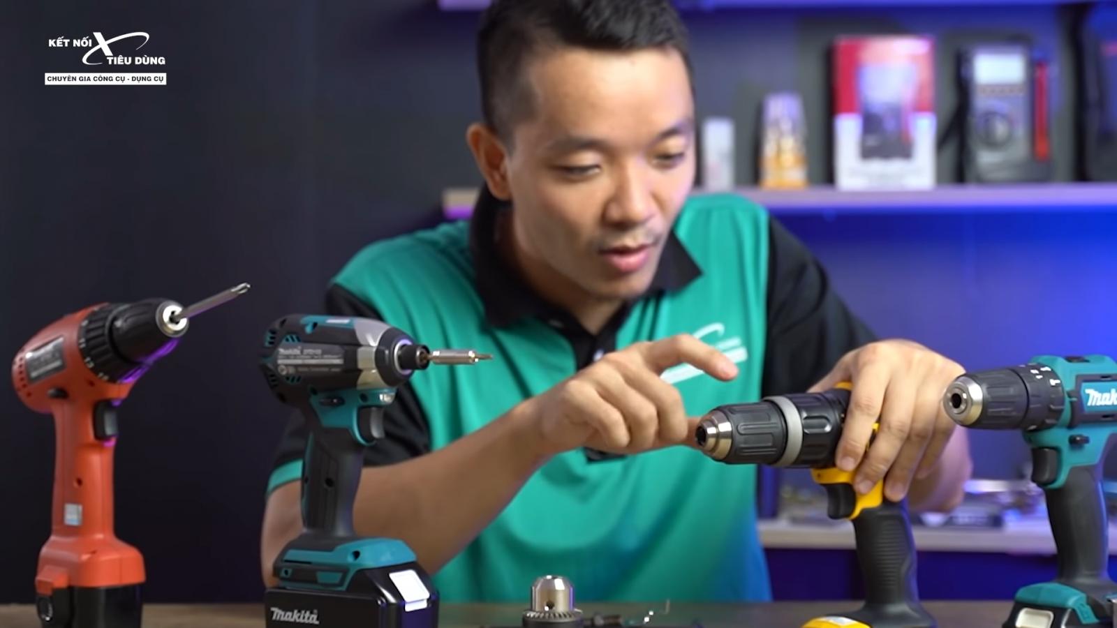 Chia sẻ cách thay đầu kẹp khoan pin đơn giản, nhưng không phải ai cũng lầm được - gợi ý một số đầu kẹp máy khoan pin