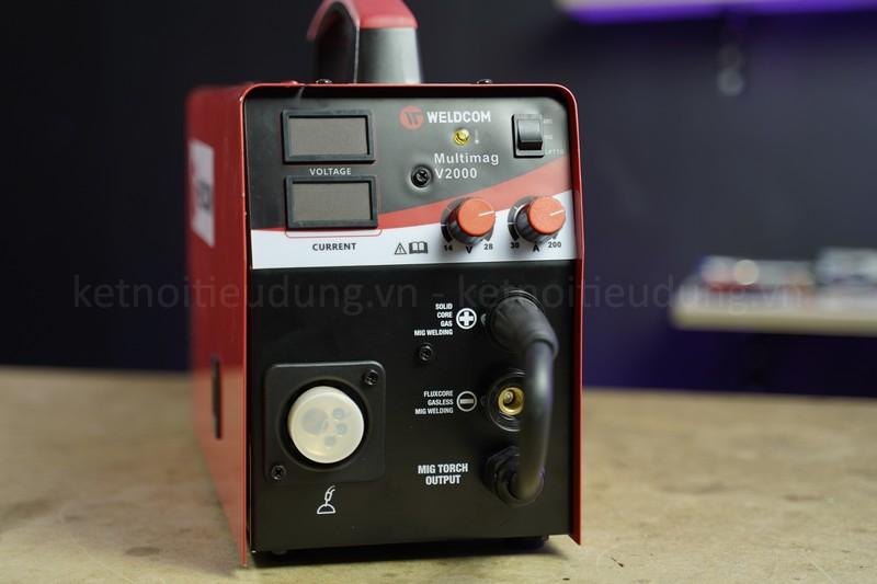 Hàn Mig là gì? khi nào nên sử dụng máy hàn Mig? - máy hàn bán tự động Weldcom Multimag V2000 chính hãng