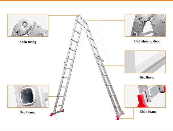 Những vị trí bảo quản thang nhôm hiệu quả hơn.