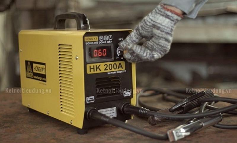 Hướng dẫn cách sử dụng máy hàn que điện tử - điều chỉnh cường độ dòng hàn