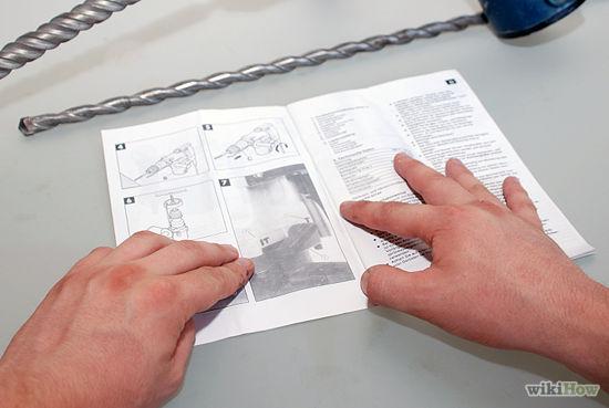 hướng dẫn sử dụng máy khoan cắt bê tông
