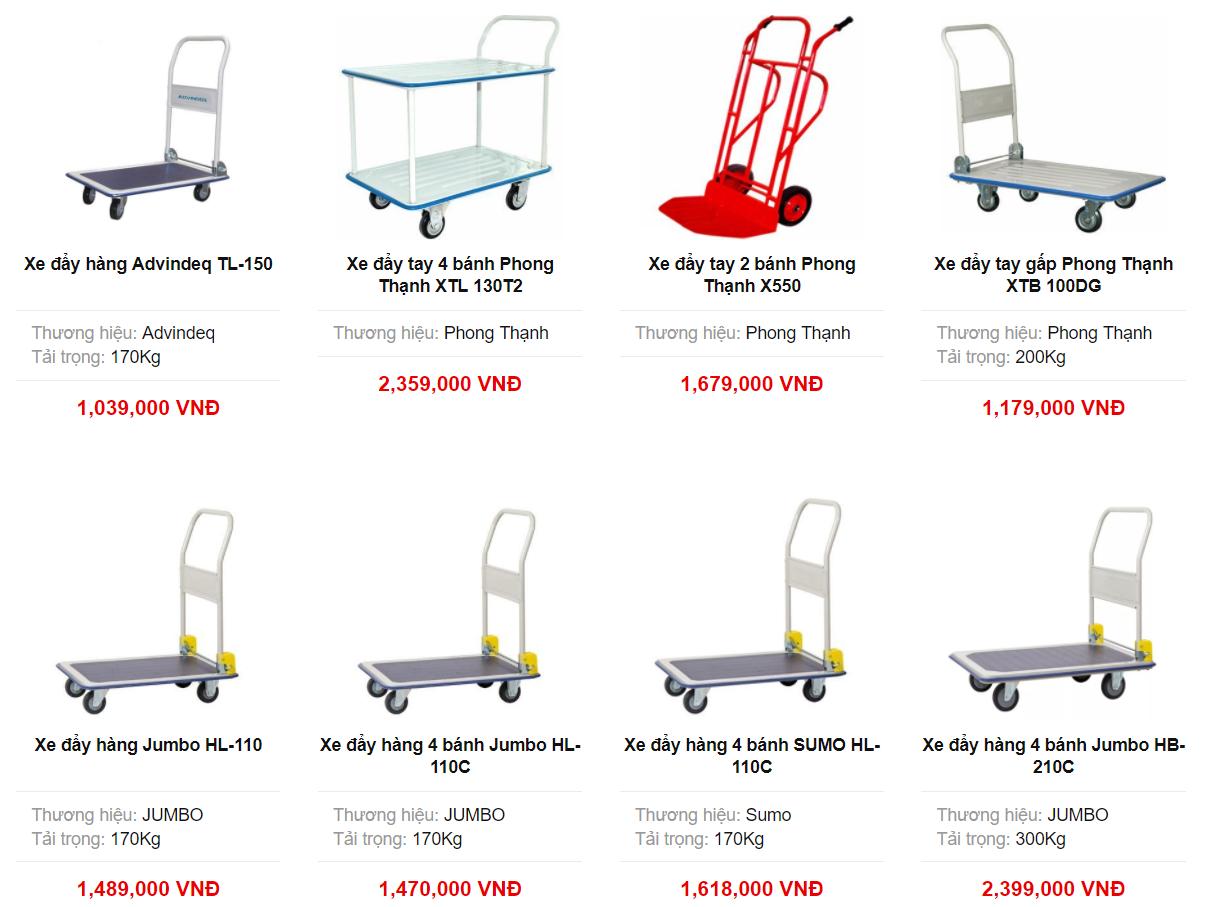 Ketnoitieudung.vn cung cấp chính hãng, đa dạng các loại xe đẩy