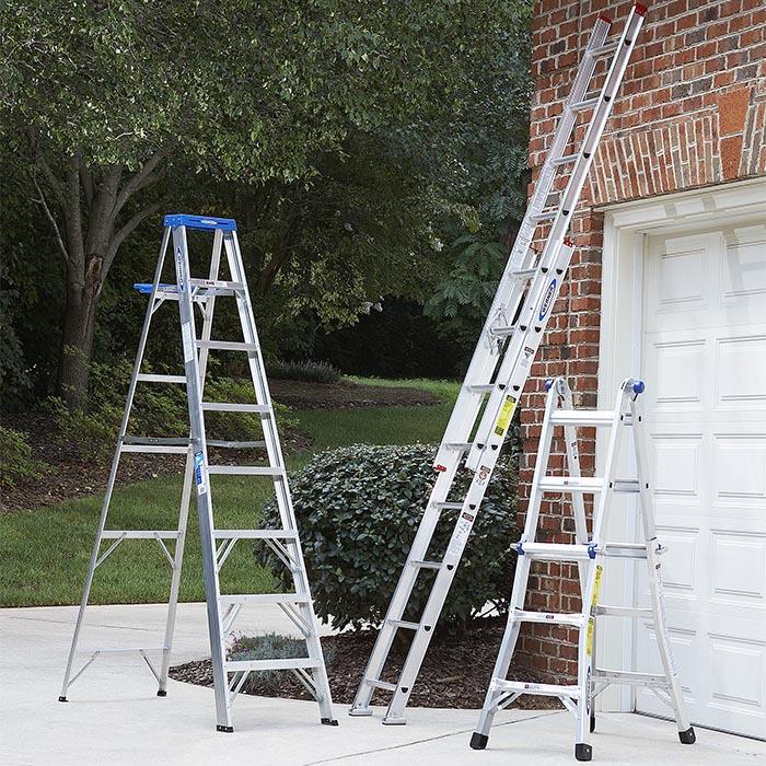 Đảm bảo điều kiện làm việc an toàn khi sử dụng thang nhôm