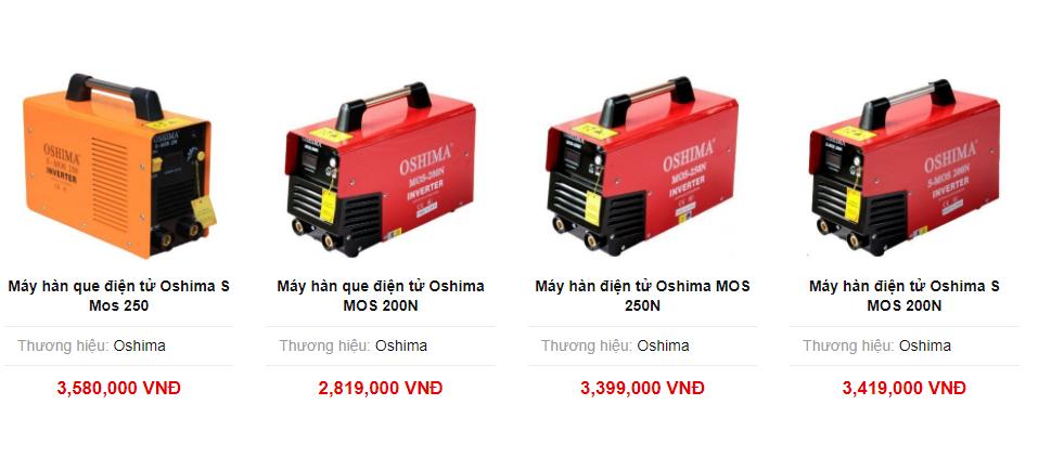 Có rất nhiều loại máy hàn điện tử cho bạn lựa chọn tại Ketnoitieudung.vn