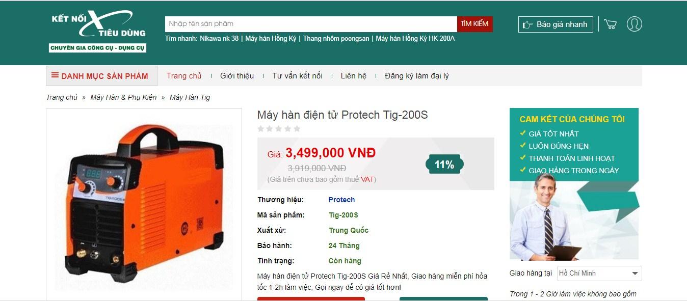 Sản phẩm chính hãng - giá rẻ ưu đãi tại Ketnoitieudung.vn
