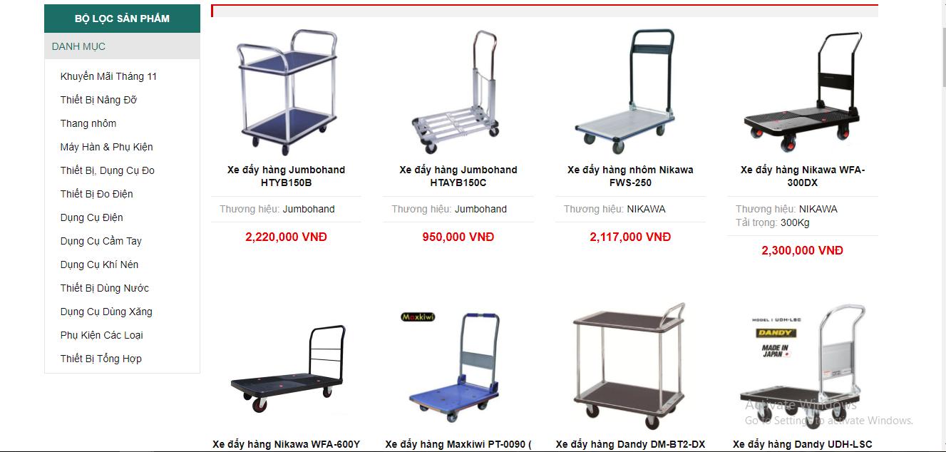 Ở Ketnoitieudung.com, có rất nhiều loại xe đẩy, mẫu mã đa dạng cho bạn lựa chọn với từng địa hình
