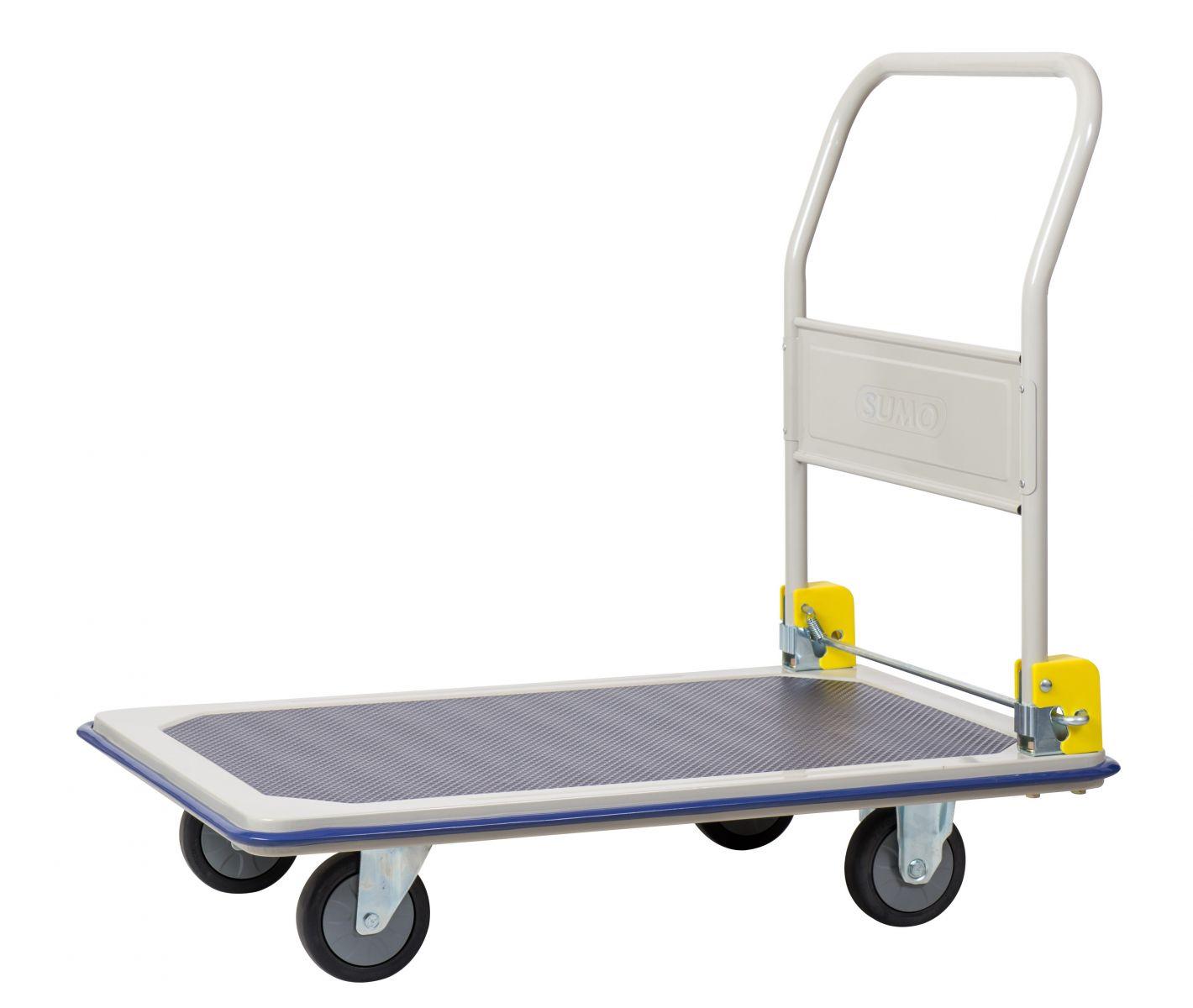 Lựa chọn xe đẩy hàng có thiết kế phù hợp với hàng hóa vận chuyển