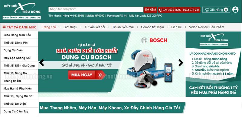 Lựa chọn đại lý Bosch chính hãng tại thành phố Hồ Chí Minh - kiểm tra thông tin của các đại lý máy khoan Bosch tại TPHCM