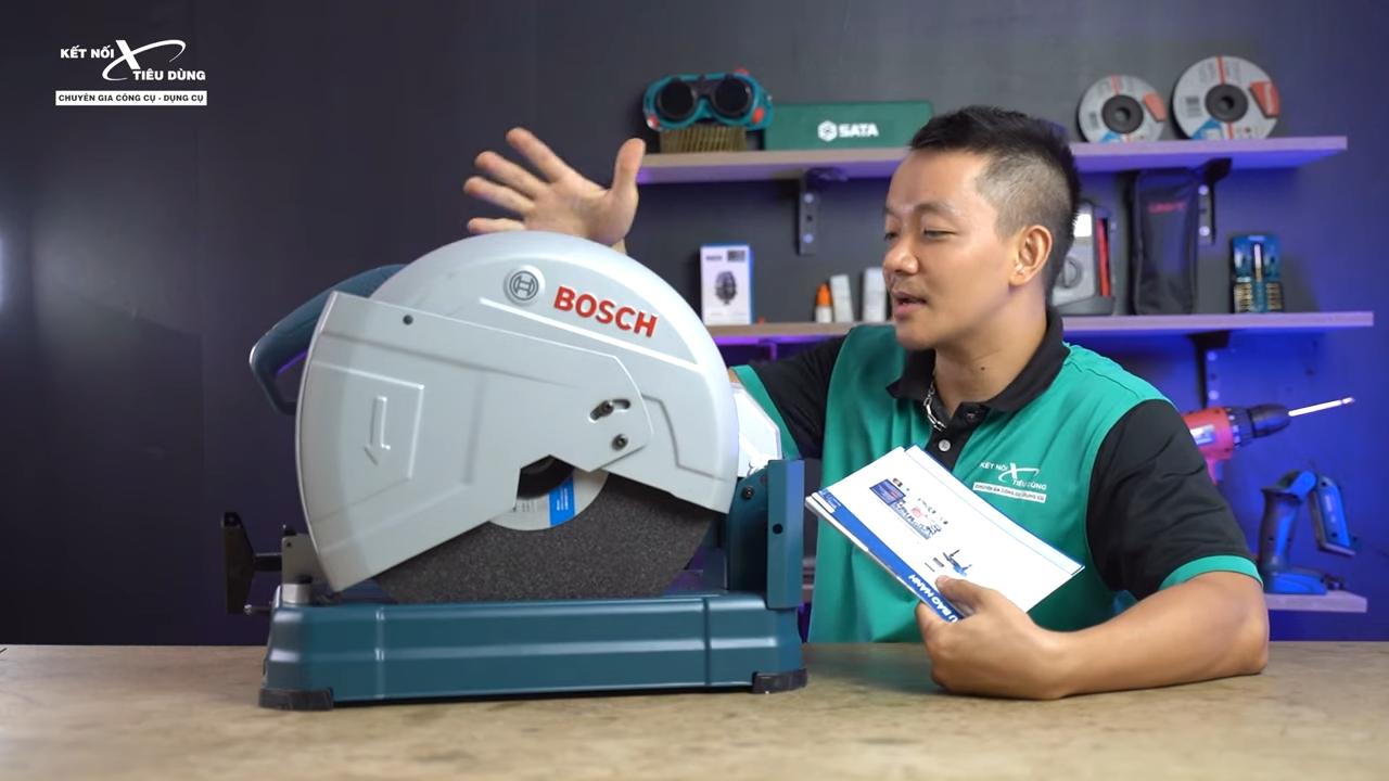 Máy cắt sắt Bosch GCO 14-24 liệu có ngon trong tầm giá - địa chỉ mua máy cắt sắt Bosch chính hãng, giá tốt