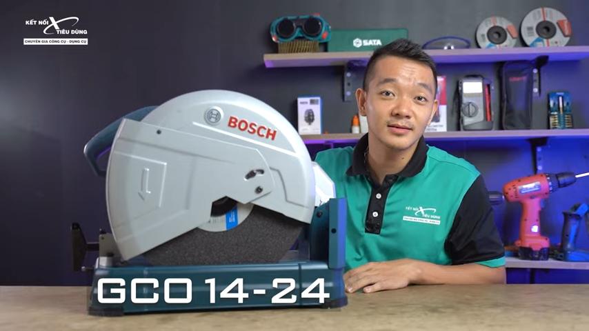Máy cắt sắt Bosch GCO 14-24 liệu có ngon trong tầm giá - máy cắt sắt Bosch GCO 14-24 thuộc dòng sản phẩm chuyên dụng trong ngành công nghiệp nặng