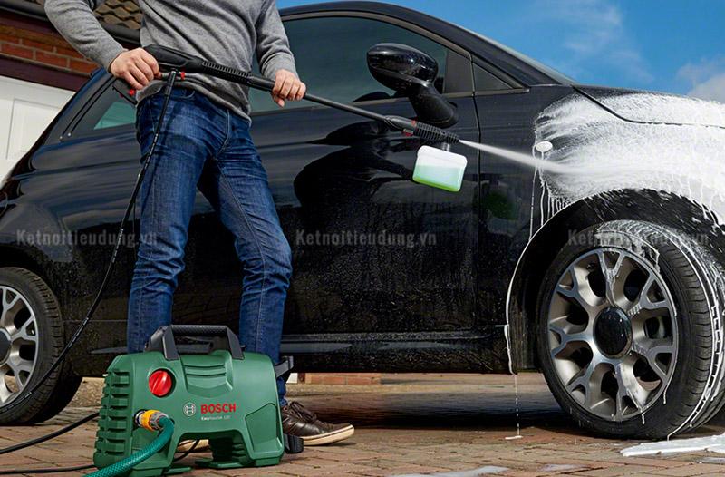Nên mua máy rửa xe gia đình loại nào tốt? Tư vấn chọn mua máy rửa xe 2021 - máy rửa xe Bosch chính hãng