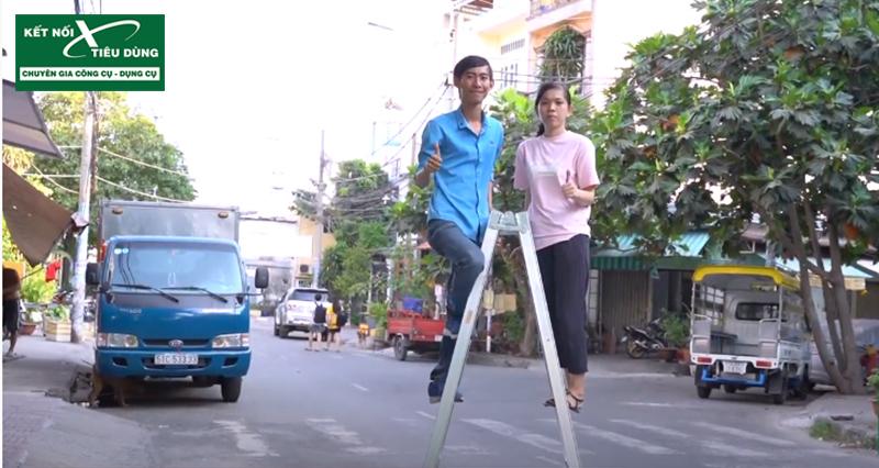 [Review] Đừng Mua Thang Nhôm Nếu Chưa Xem: Thang Nhôm Chữ A Cao Cấp Mới Của PoongSan - tải trọng 120kg