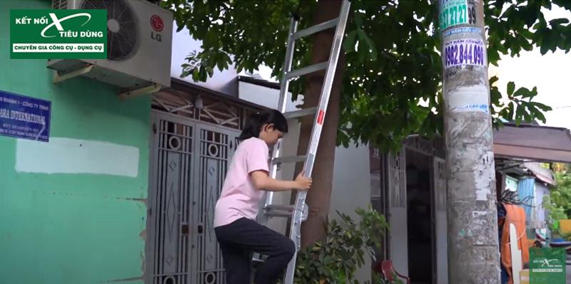 [Review] Đừng Mua Thang Nhôm Nếu Chưa Xem: Thang Nhôm Chữ A Cao Cấp Mới Của PoongSan - dạng chữ I
