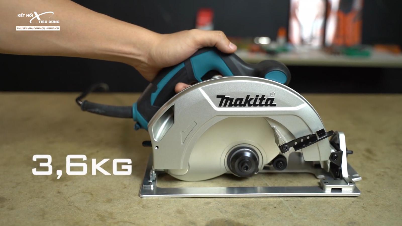 Review máy cưa đĩa cao cấp Makita HS7600: siêu nhỏ gọn, cắt gỗ mịn, chạy cực êm