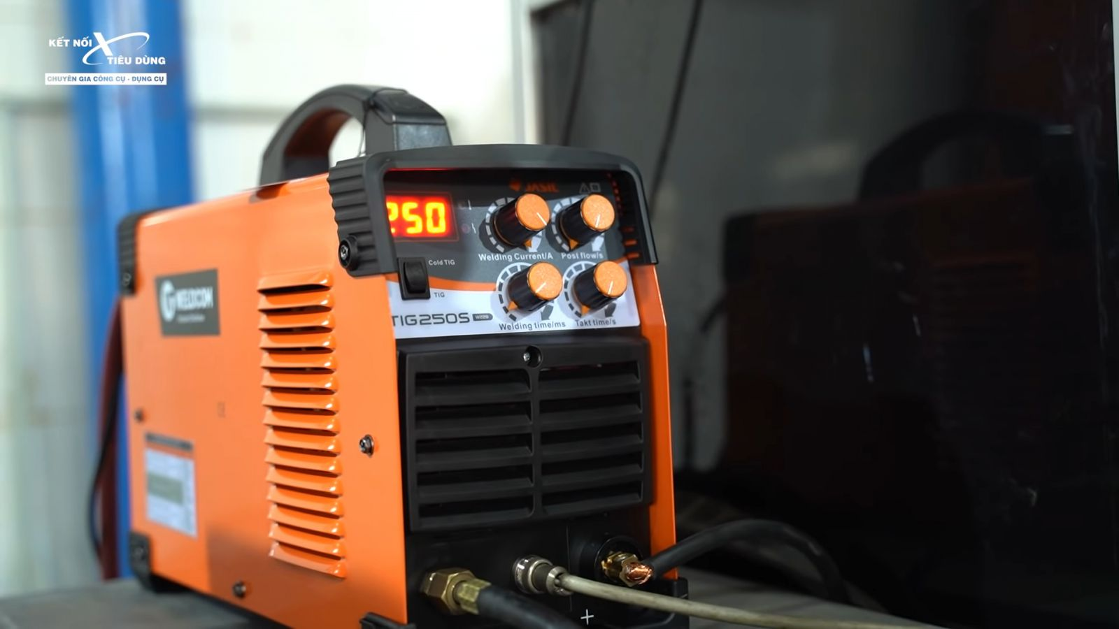 Review máy hàn Jasic TIG250S W228: nhỏ gọn, cao cấp, hàn Tig lạnh còn đẹp hơn hàn Tig thường - ưu điểm nổi bật của máy hàn