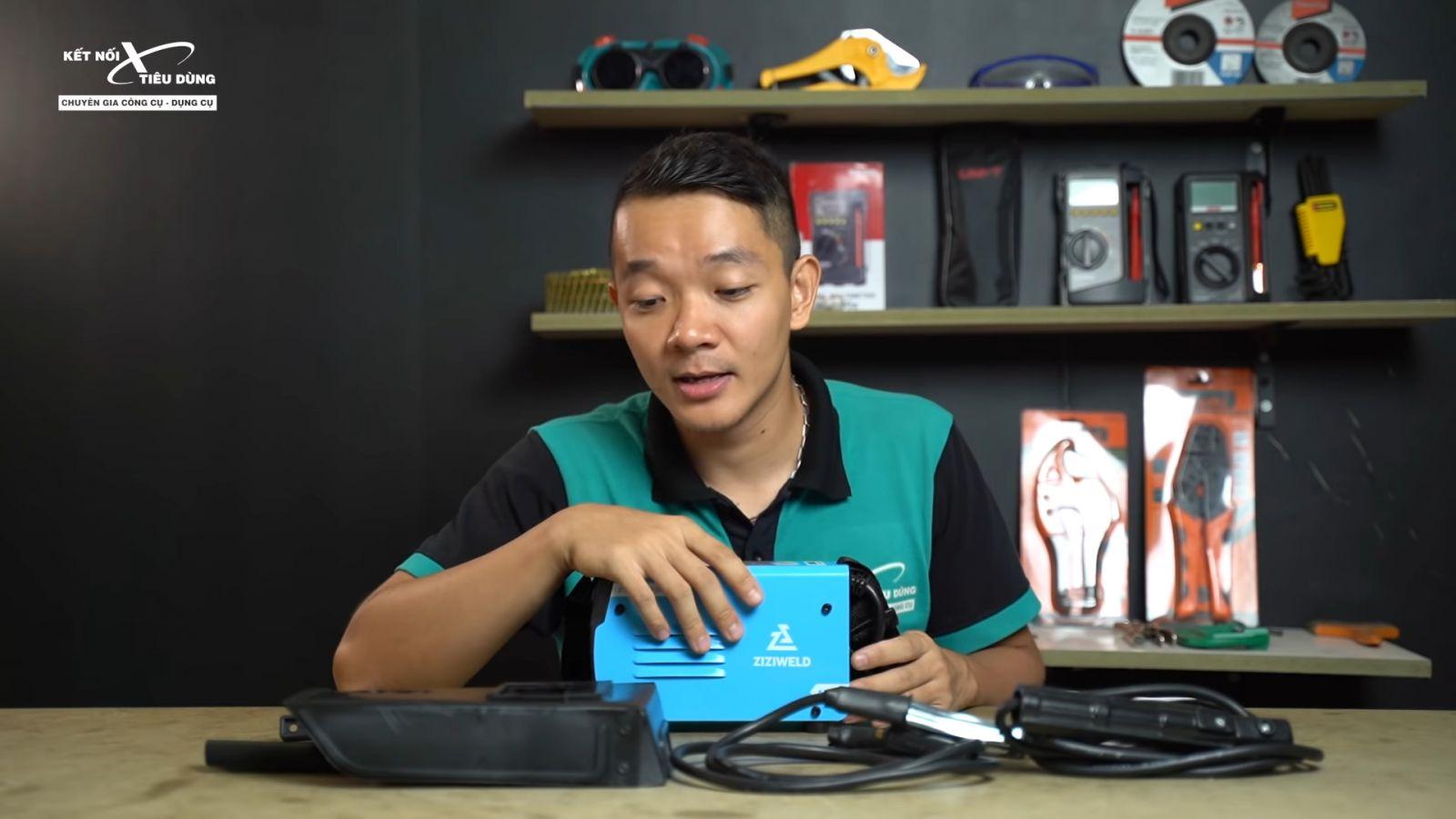 Review máy hàn que mini Ziziwweld ZARC 2500: siêu nhỏ, kéo que 2.5mm ngon lành, giá chỉ 1tr2, Weldcom phân phối - địa chỉ mua máy hàn