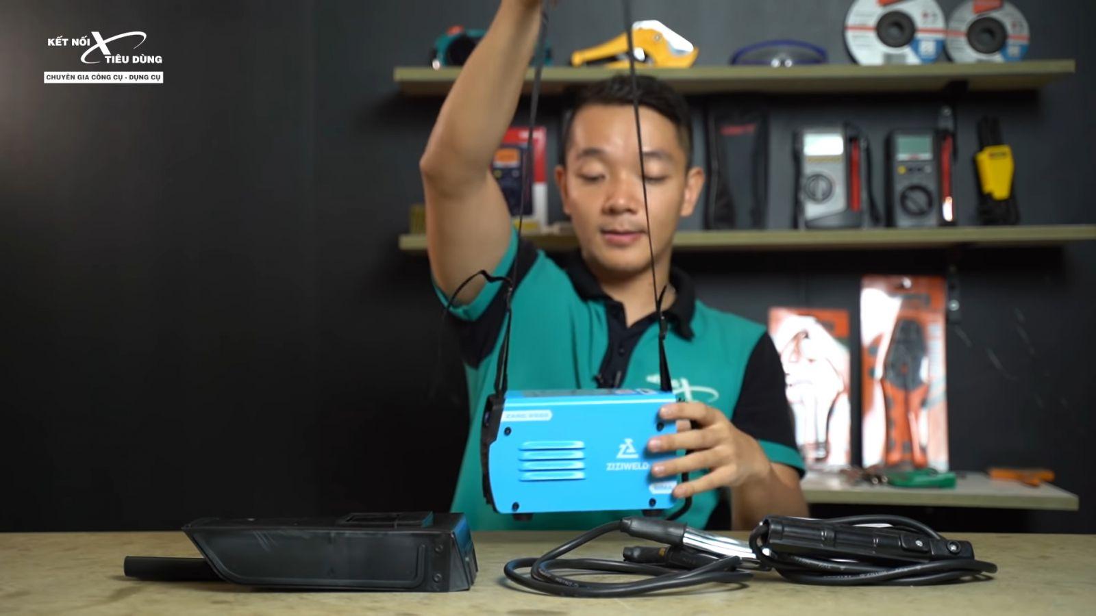 Review máy hàn que mini Ziziwweld ZARC 2500: siêu nhỏ, kéo que 2.5mm ngon lành, giá chỉ 1tr2, Weldcom phân phối - ưu điểm nổi bật của máy hàn