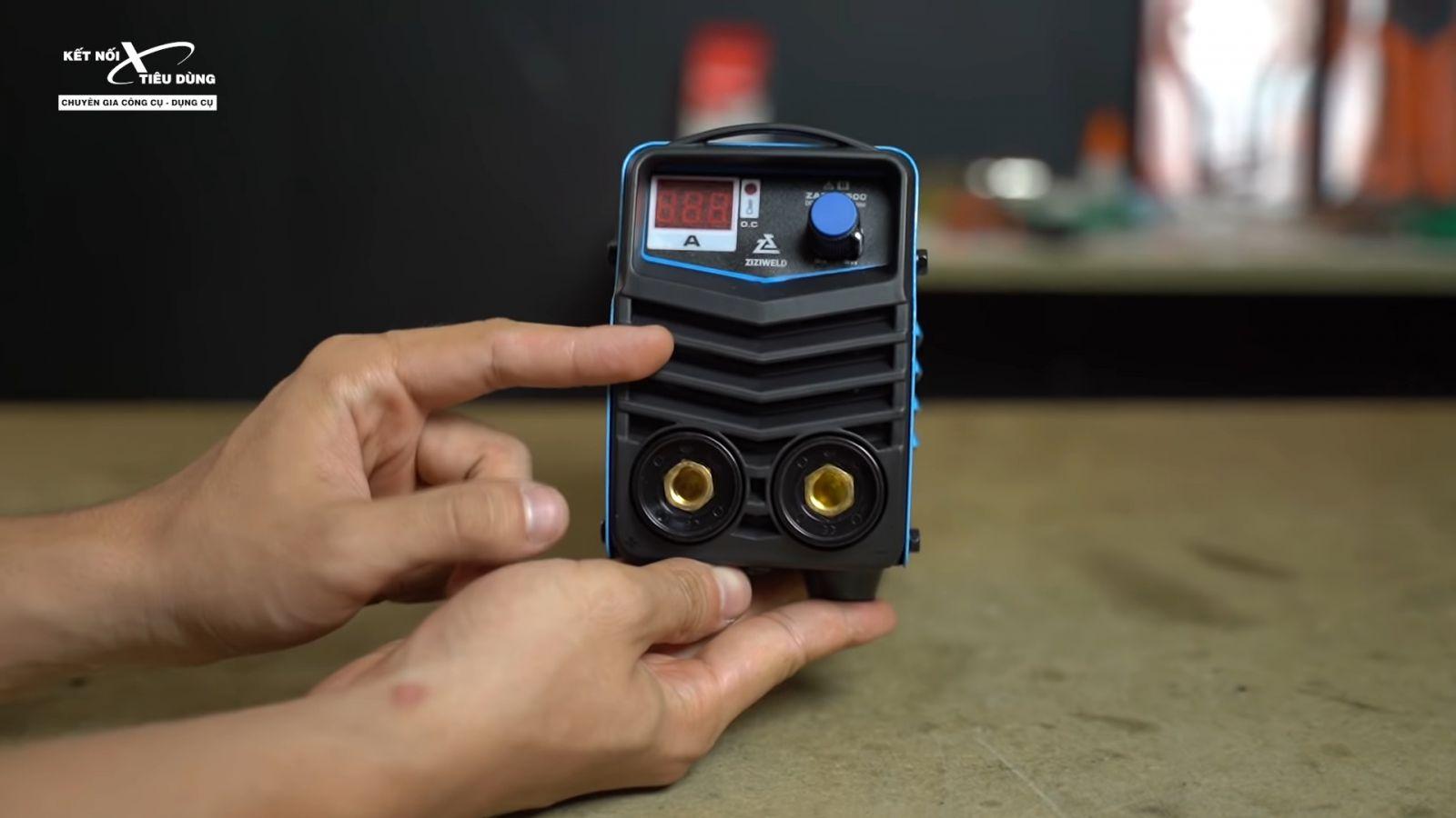 Review máy hàn que mini Ziziwweld ZARC 2500: siêu nhỏ, kéo que 2.5mm ngon lành, giá chỉ 1tr2, Weldcom phân phối - lưu ý khi sử dụng máy hàn
