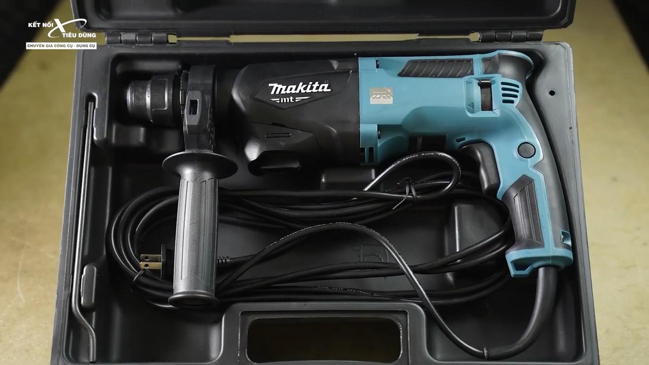 Review máy khoan búa Makita MT M8700B: 710W, giá chưa đến 2 triệu, hai chế độ quá ngon