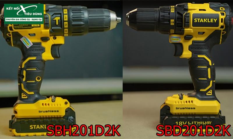 [Review] Máy Khoan Pin Stanley SBH201D2K & SBD201D2K: cặp đôi khoan pin 18V không chổi than đến từ Mỹ