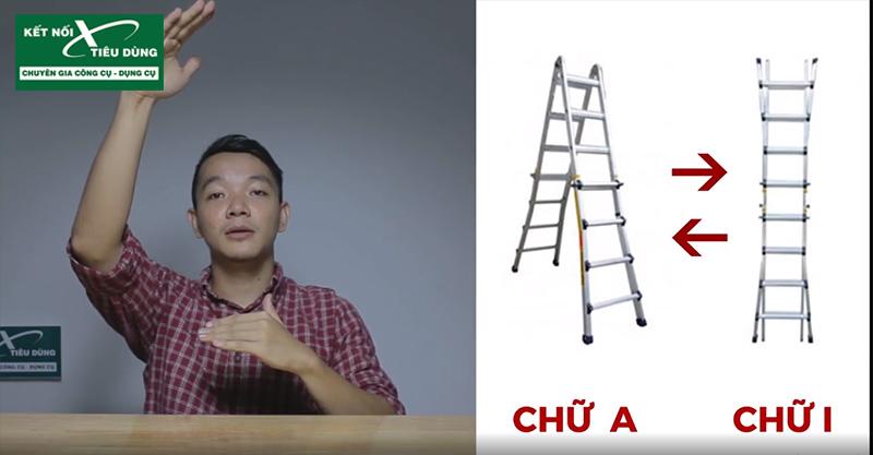[Review] Thang Nhôm Chữ A Poongsan PS-44: Đáng Đồng Tiền Bát Gạo! - thiết kế