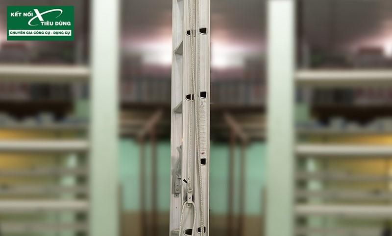 [Review] Thang Nhôm Trượt Poongsan: Cực Chắc, Tăng Giảm Chiều Cao Dễ Dàng - hệ thống đường ray
