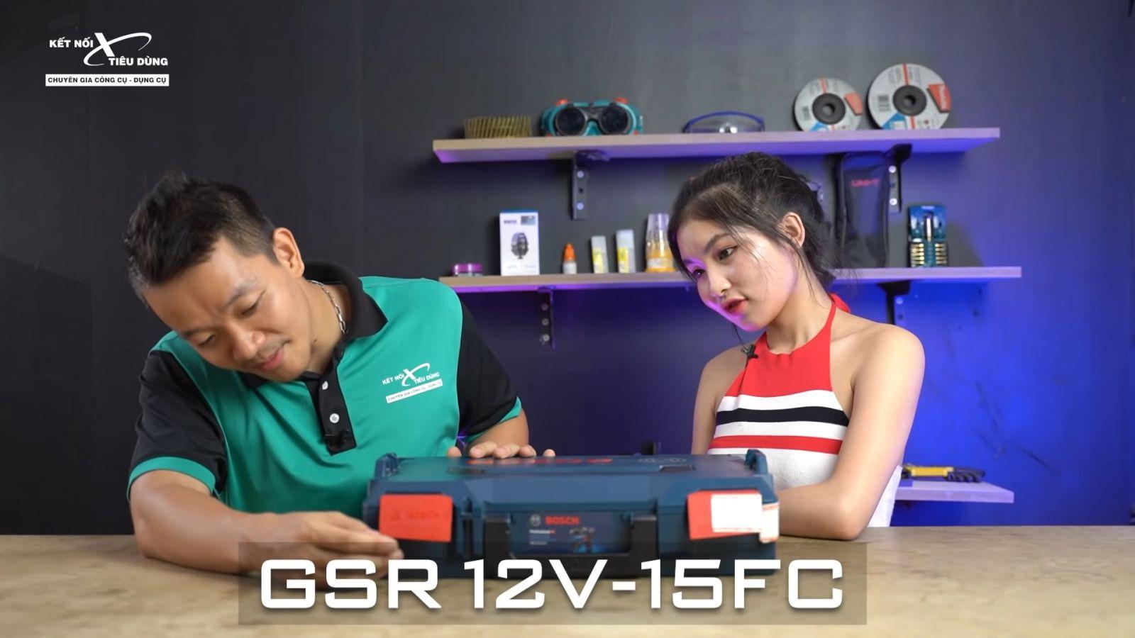 Review xử lý mọi ngóc ngách với máy khoan pin Bosch GSR 12V-15FC: siêu gọn nhẹ, công năng linh hoạt với 4 đầu khoan - thông tin chi tiết máy khoan