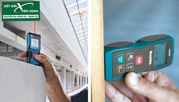 So sánh dụng cụ dùng trong xây dựng của Makita và Bosch