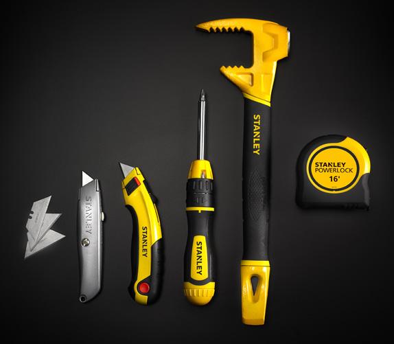Một số loại dụng cụ cầm tay của Stanley