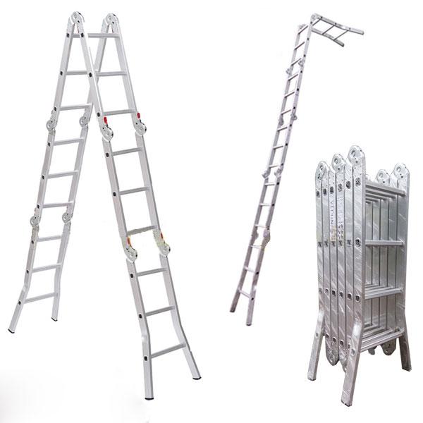 Bộ sưu tập các mẫu thang nhôm Nikata chính hãng