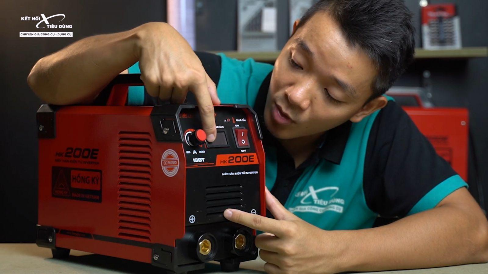 Tìm hiểu cấu tạo máy hàn que, cách đọc thông số kỹ thuật máy hàn - thông số kỹ thuật máy hàn que