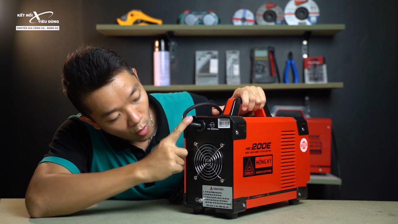 Tìm hiểu cấu tạo máy hàn que, cách đọc thông số kỹ thuật máy hàn - nguồn điện máy hàn que