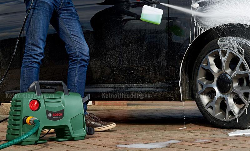 Top 5 máy rửa xe Bosch giá rẻ, đáng mua nhất năm 2021 - ưu điểm của sản phẩm máy rửa xe Bosch Easy Aquatak 110
